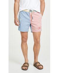 Polo Ralph Lauren Patchwork Montauk Chino Shorts - Multicolor