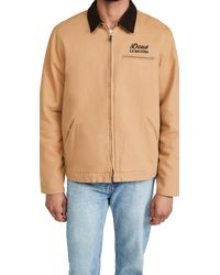 Deus Ex Machina Address Workwear Jacket - Natural
