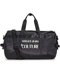 Versace Jeans Couture Macrologo Dufflebag - Black