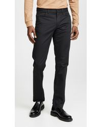 Theory - Haydin Soft Sateen Trousers - Lyst