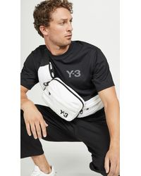 Y-3 Convertible Sling Bag - White