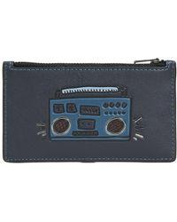 COACH - X Keith Haring Glovetan Zip Card Case - Lyst