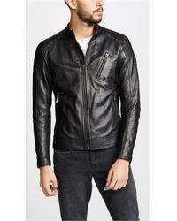 Belstaff - V Racer Leather Jacket - Lyst