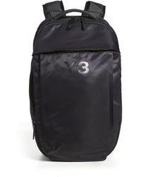 Y-3 Solid Backpack - Black