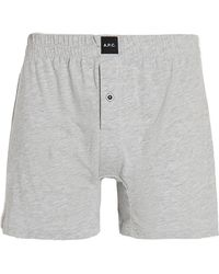 A.P.C. Calecon Cabourg Boxers - Grey