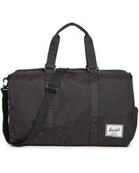 Herschel Supply Co. Eco Novel Recycled Duffel Bag - Black