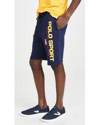 Polo Ralph Lauren Polo Sport Fleece Sweatshorts - Blue