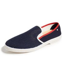Rivieras Le Grand Bleu Slip On Trainers - Blue