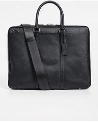COACH - Cross Grain Metropolitan Briefcase - Lyst
