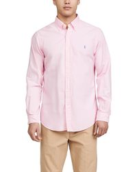 Polo Ralph Lauren Gd Oxford Shirt - Pink