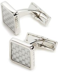 Ted Baker Bchill Cufflinks - White