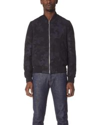 PS by Paul Smith - Camo Bomber Jacket - Lyst