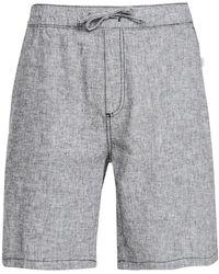 Onia Linen Shorts - Black