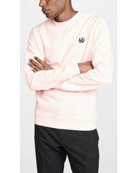 McQ - Coverlock Crewneck Sweatshirt - Lyst