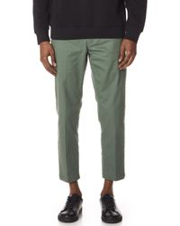 Obey - Straggler Flooded Trousers - Lyst