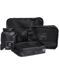 Herschel Supply Co. Travel Organizer Set - Black