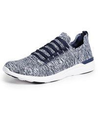 Athletic Propulsion Labs Techloom Breeze Running Sneakers - Blue