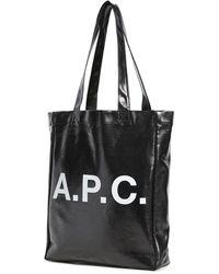 A.P.C. Lou Tote Bag - Black