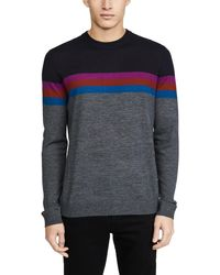 Ted Baker Cowes Colorblocked Sweater - Blue