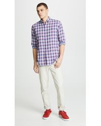 Polo Ralph Lauren - Classic Fit Double Faced Shirt - Lyst