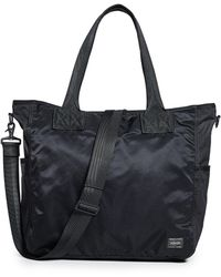 Porter Frame 2-way Tote Bag - Black