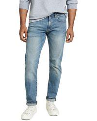 Polo Ralph Lauren Varick Slim Straight Fit Jeans - Blue