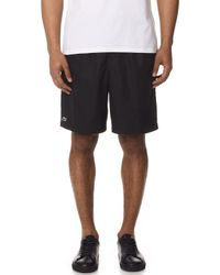 Lacoste - Sport Lined Tennis Shorts - Lyst