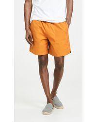 J.Crew Oversized Dock Shorts - Orange