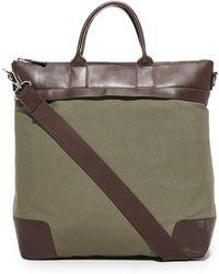Shinola The Nylon Travel Tote - Brown