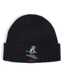 Polo Ralph Lauren Polo Ski Bear Hat - Black