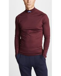 J.Lindeberg - M Aello Slim Soft Compression Top - Lyst