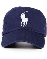 Polo Ralph Lauren Big Pony Cap - Blue