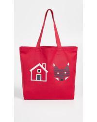 Maison Kitsuné - Rebus Tote Bag - Lyst