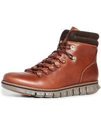Cole Haan Zerogrand Hiker Waterproof Hiking Boot - Brown