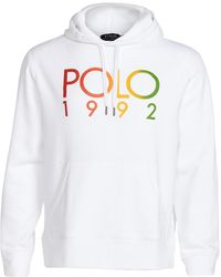 Polo Ralph Lauren Long Sleeve Magic Fleece Hoodie - White