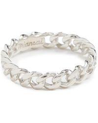 Miansai Cuban Link Ring - Metallic