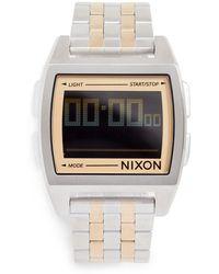 Nixon Base Watch, 38mm - Metallic