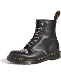 Dr. Martens 1460 Cbgb 8 Eye Boots - Black