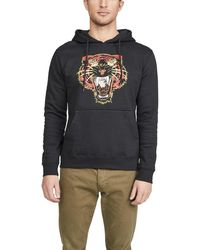 RVCA Night Lurker Pullover Hoodie - Black