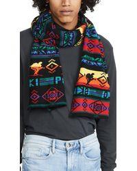 Polo Ralph Lauren Beacon Skier Scarf - Black