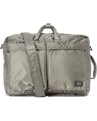 Porter Tanker 3 Way Briefcase - Metallic