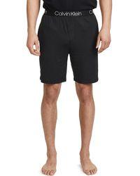 Calvin Klein Ultra Soft Modal Lounge Shorts - Black