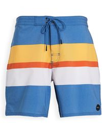 RVCA Westport Swim Trunks - Blue