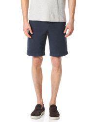 Billy Reid - Clyde Cotton Shorts - Lyst