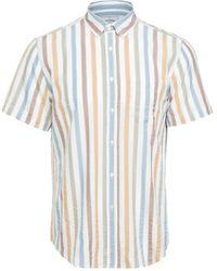 Portuguese Flannel Watercolor Short Sleeve Shirt - Multicolour