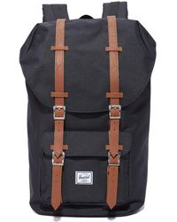 Herschel Supply Co. . Little America Laptop Backpack - Black