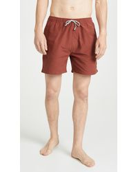 Mollusk Vacation Trunks - Red