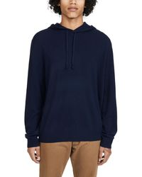 Polo Ralph Lauren Cashmere Pullover Hoodie - Blue