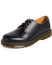 Dr. Martens 1461 3 Eye Gibson Lace Up - Black