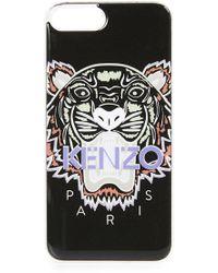 KENZO - Silicon Tiger Iphone 7 Plus / 8 Plus Case - Lyst